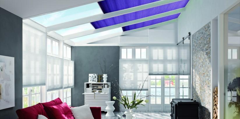store de veranda plisse velum