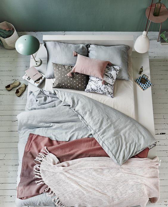 linge de lit stylé