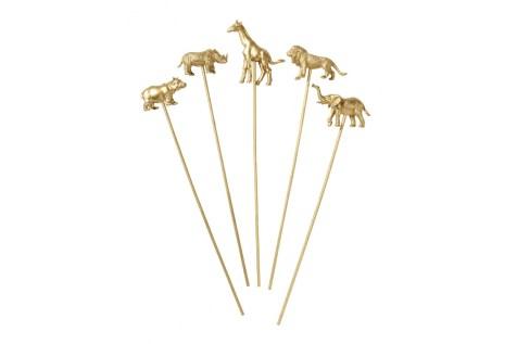 piques-decoratifs-animaux-dores