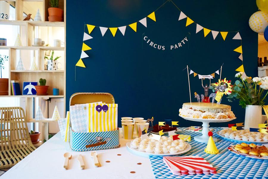 Circus party : La fête d'anniversaire rétro de la mini