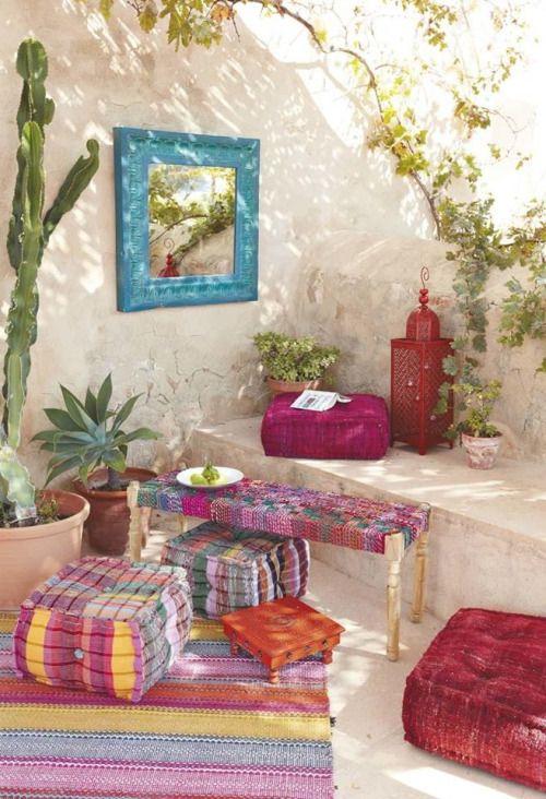 8 Astuces Pour Une Dco Terrasse Bohme DecouvrirDesign