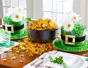 decoration table saint patrick