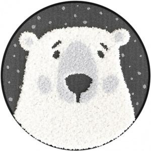 destockage tapis rond chambre d enfants maman ours facile d entretien