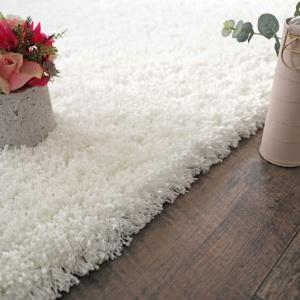 tapis flocon shaggy frise a poils