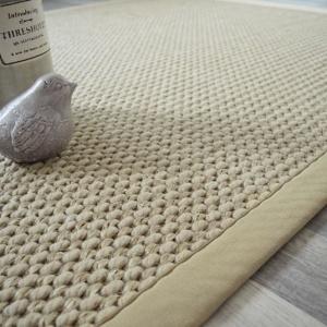 tapis laine et sisal albury grege ganse coton grege