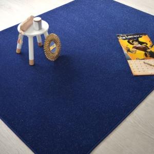 tapis chambre d enfant paillete flash bleu marine