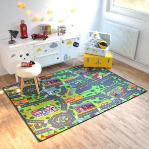 tapis de jeu enfant circuit voiture ville