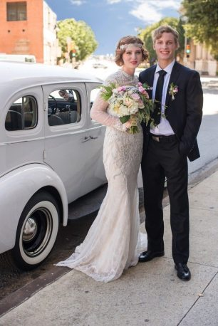 1920s Bride and Groom Day After Shoot