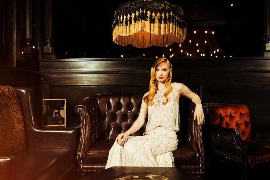 Vintage 1920s Wedding Inspiration  Speakeasy Style  Deco
