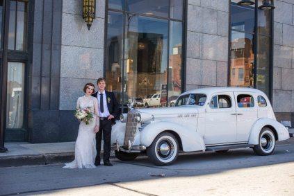 1920s Wedding Vintage Car