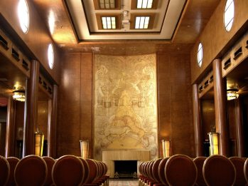Art Deco Queen's Salon || Queen Mary