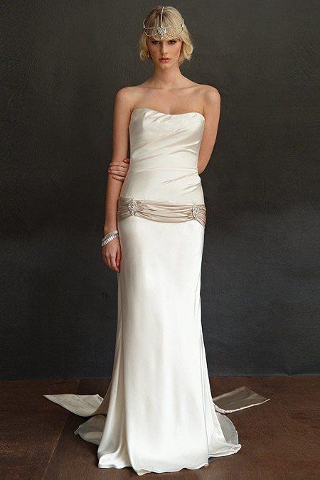 Art Deco Wedding Dress  Carmina  Mariana Hardwick