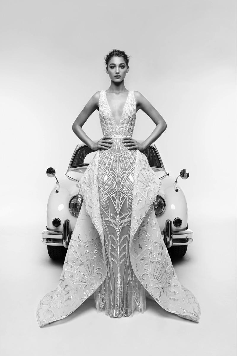 Zuhair Murad Bridal 2019  Art Deco Wedding Gowns  Deco