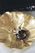 Art Deco Black Diamond Wedding Rings