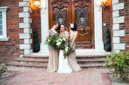 Art Deco Bridesmaids
