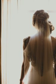 Art Deco Gown + Veil