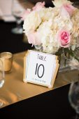 Art Deco Table Numbers