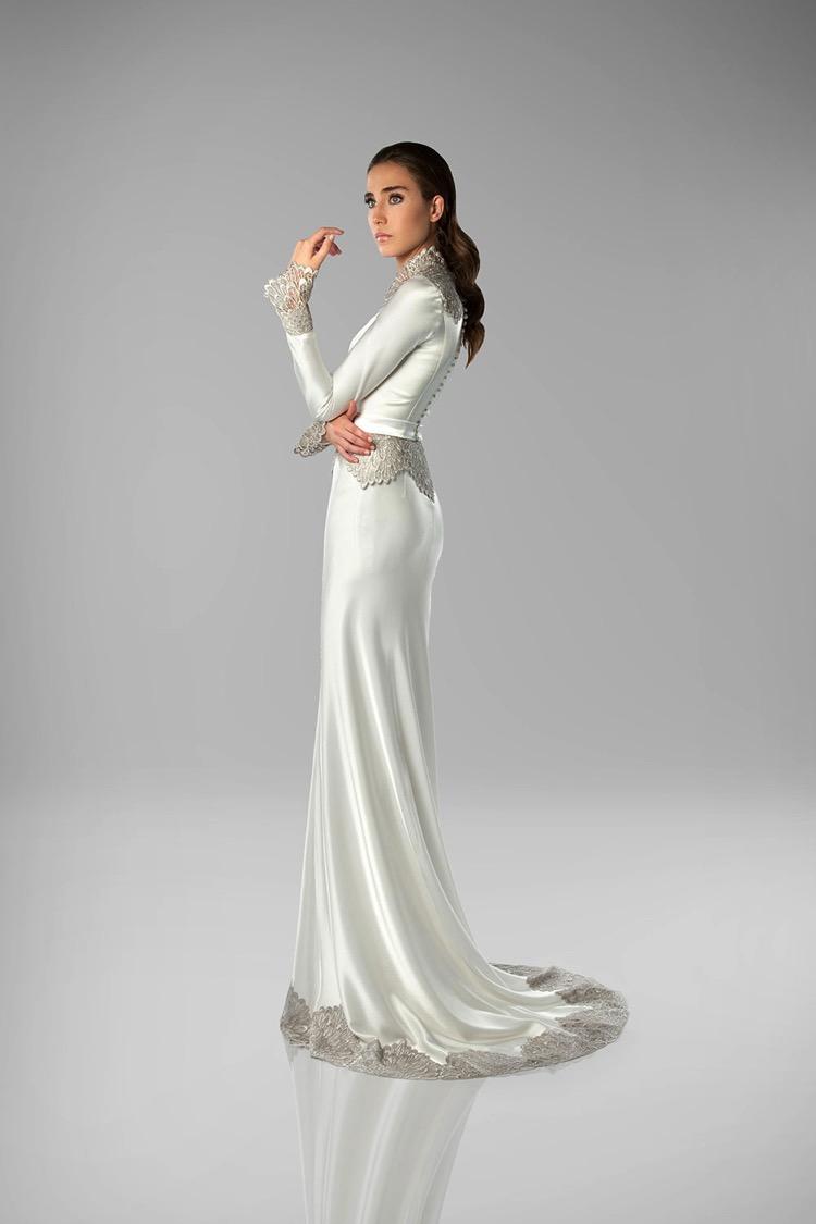 Art Deco Wedding Dress  Isabel Zapardiez  Deco Weddings