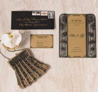 Art Deco Wedding Invitations