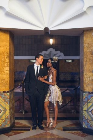 Art Deco Wedding Los Angeles Union Station