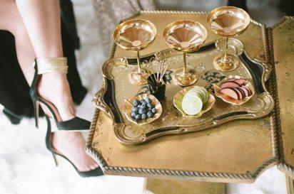 Champagne Garnishes