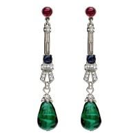 Emerald Teardrop Earrings Emerald Teardrop Earrings Ebay ...