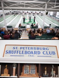 Florida Shuffleboard Club Wedding