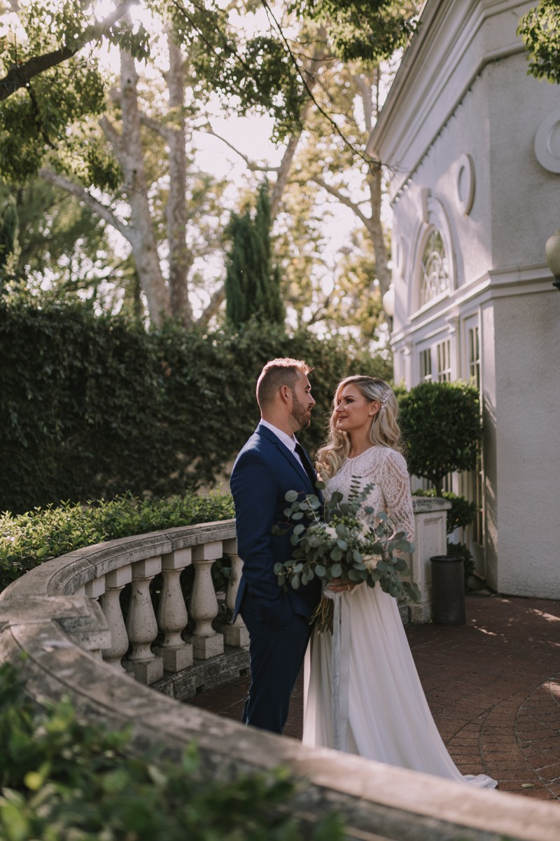 California Winter Wedding Inspiration Vintage Style