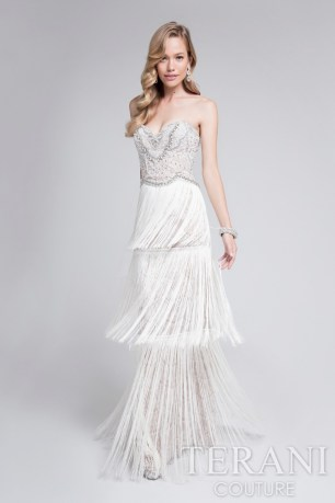 Terani Fringe Wedding Gown