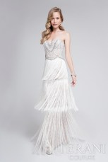 Terani Fringe Wedding Gown