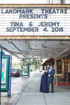 Theater Marquee Wedding