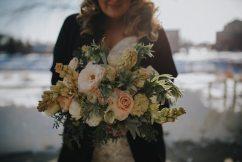 Winter Wedding Bridal Bouquet