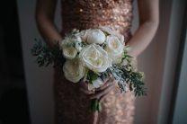 Winter Wedding Bridesmaid Bouquet