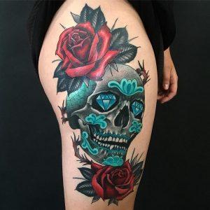 Tatuajes De Craneos Los Mejores Diseños De Tatuajes Los Tienes Aquí