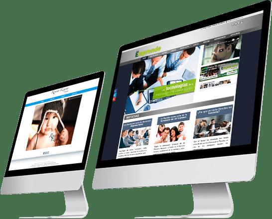 Monitores diseño web cotizar 01