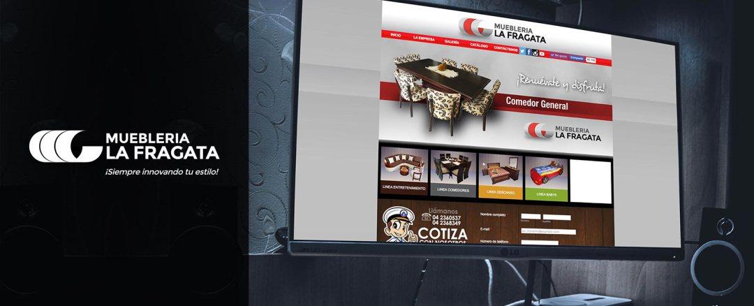 Portafolio web Mueblería La Fragata