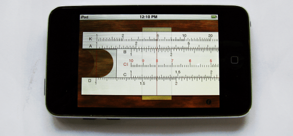 No, its not a slide rule - photo by Decrepit Old Fool