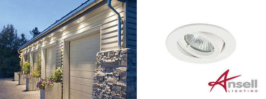 outdoor gimbal soffit lights