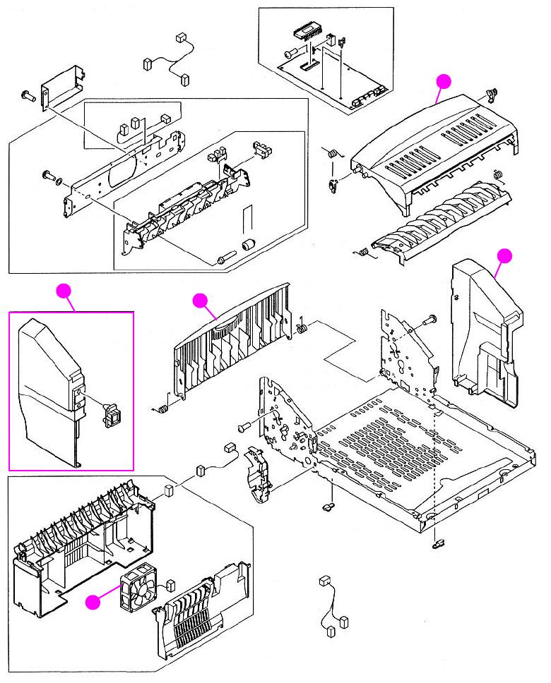 service manual hp LaserJet 4100