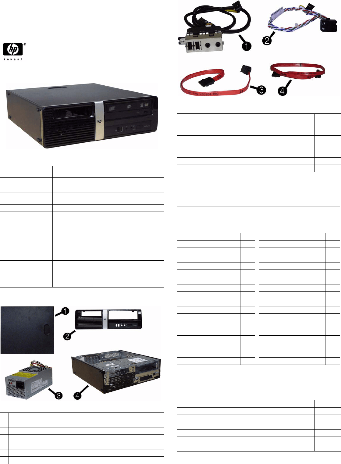 hight resolution of hp pro 3010 illustrated parts servi ce map sff chassis 597661 001 illustrated parts service map