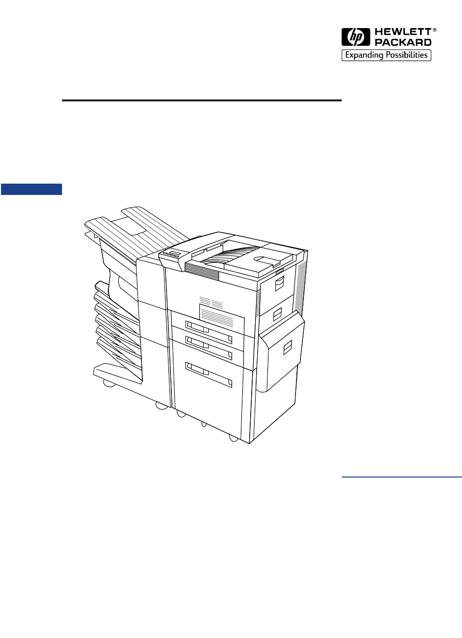 HP LaserJet 8100/8100N/8100DN and Paper Handling Devices