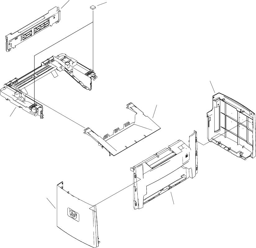 HP LaserJet 3050/3052/3055 All-in-One Service Manual