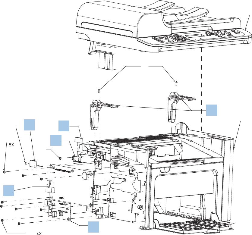 Hp Laserjet M1536Dnf Service Manual / Laserjet Pro M1530
