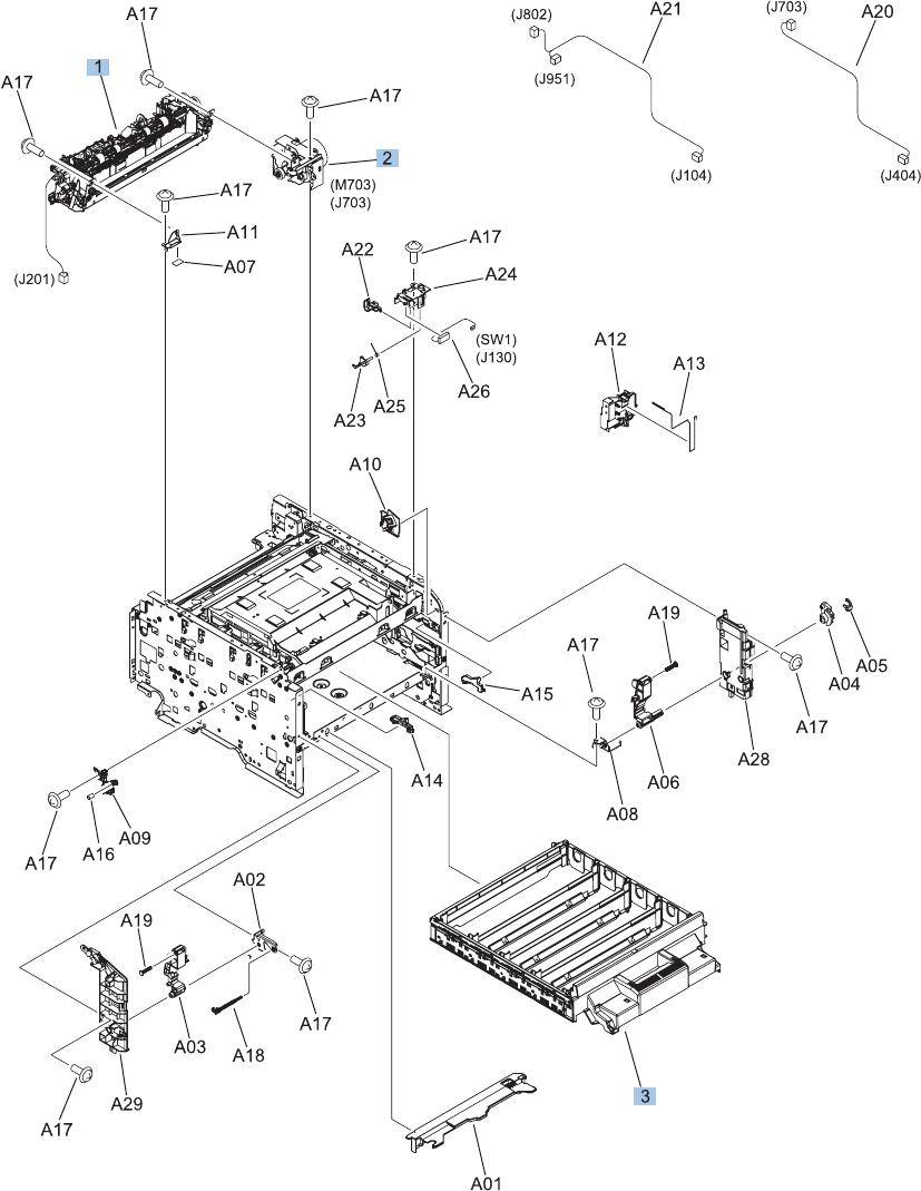 LASERJET PRO 200 COLOR MFP Repair Manual