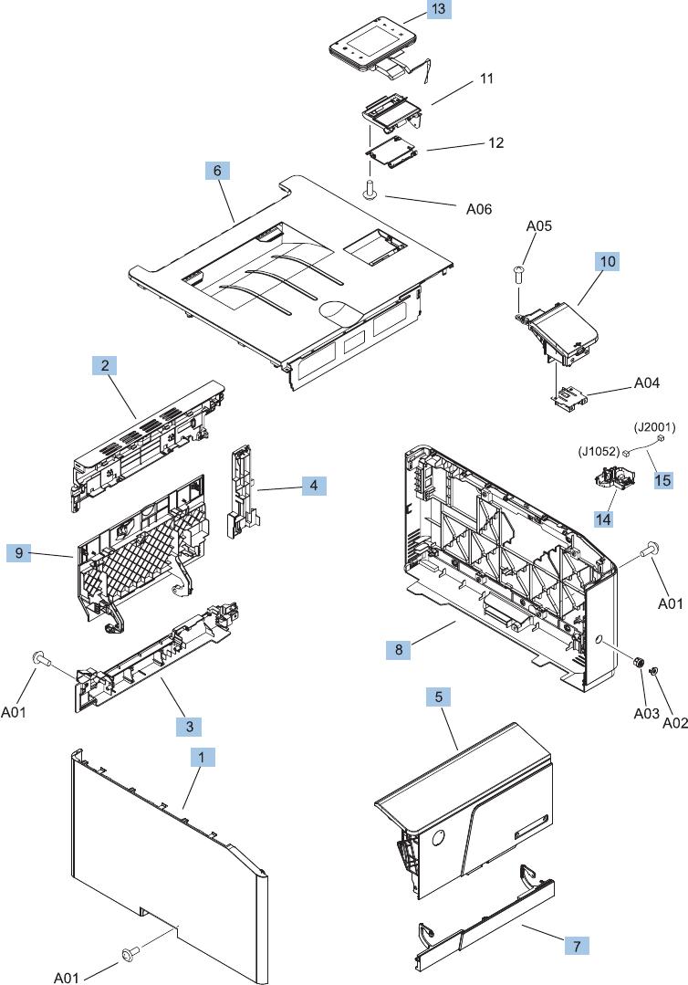 LASERJET PRO 200 COLOR M251n M251nw Repair Manual