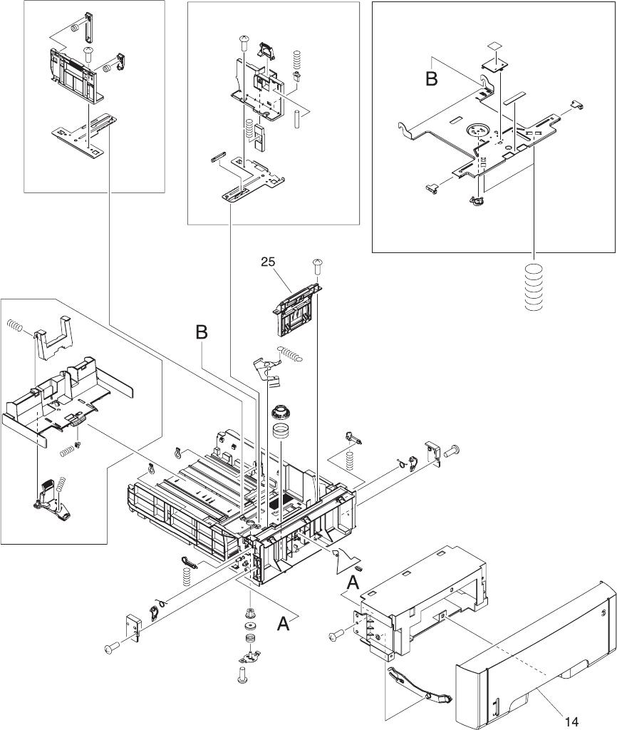 HP Color LaserJet 3000/3600/3800/ CP3505 Series Printer Service Manual
