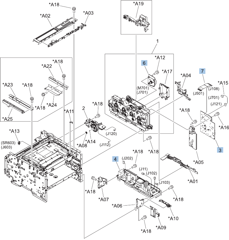 LASERJET PRO CM1410 COLOR MFP SERIES Service Manual