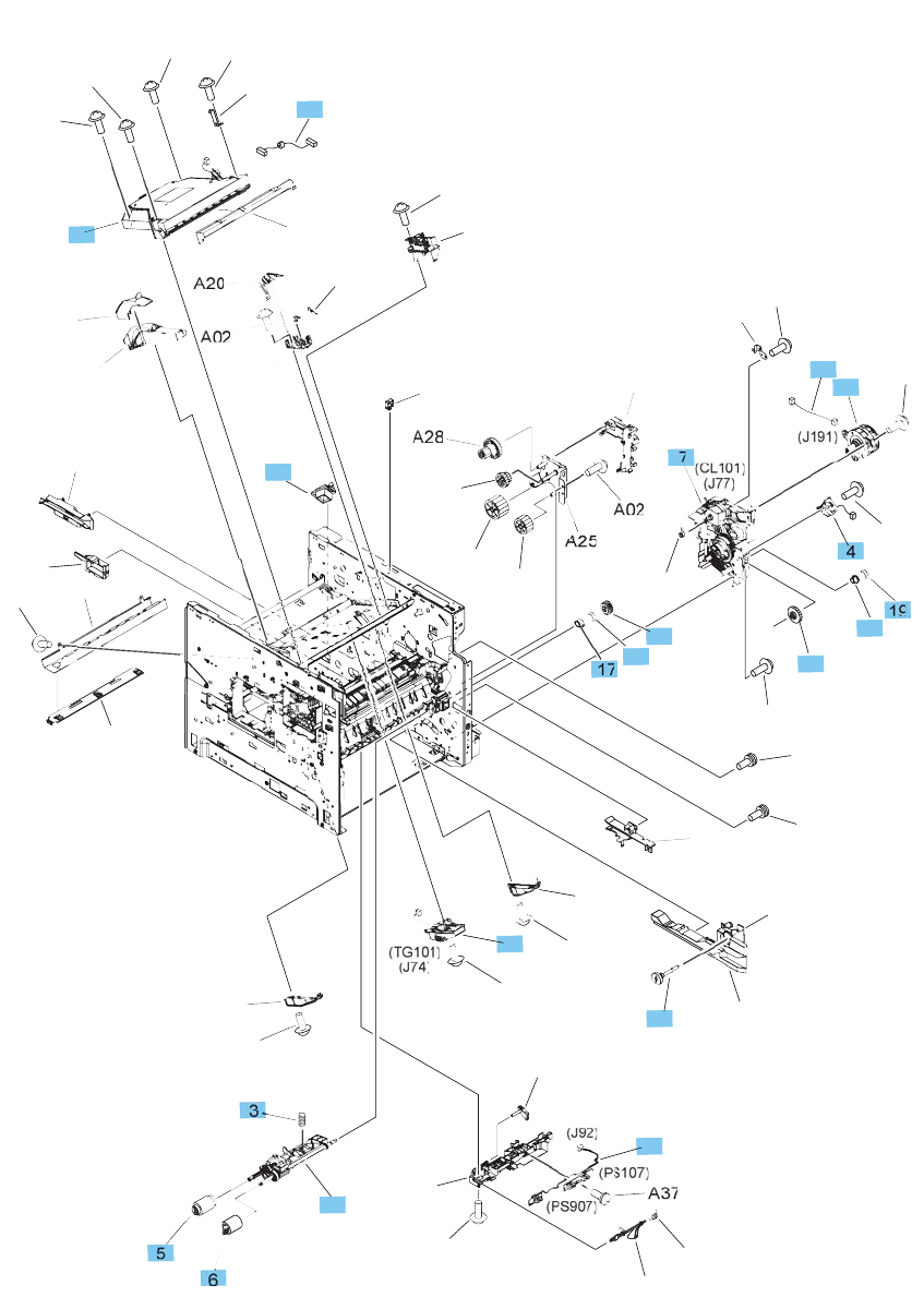 hight resolution of internal components 2 of 3
