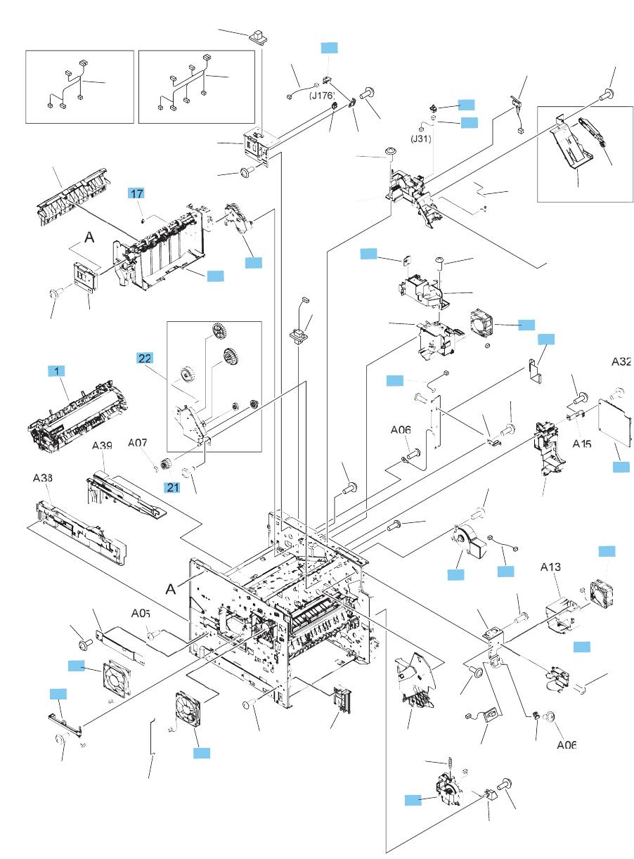 LaserJet Enterprise M604, M605, M606 Repair Manual