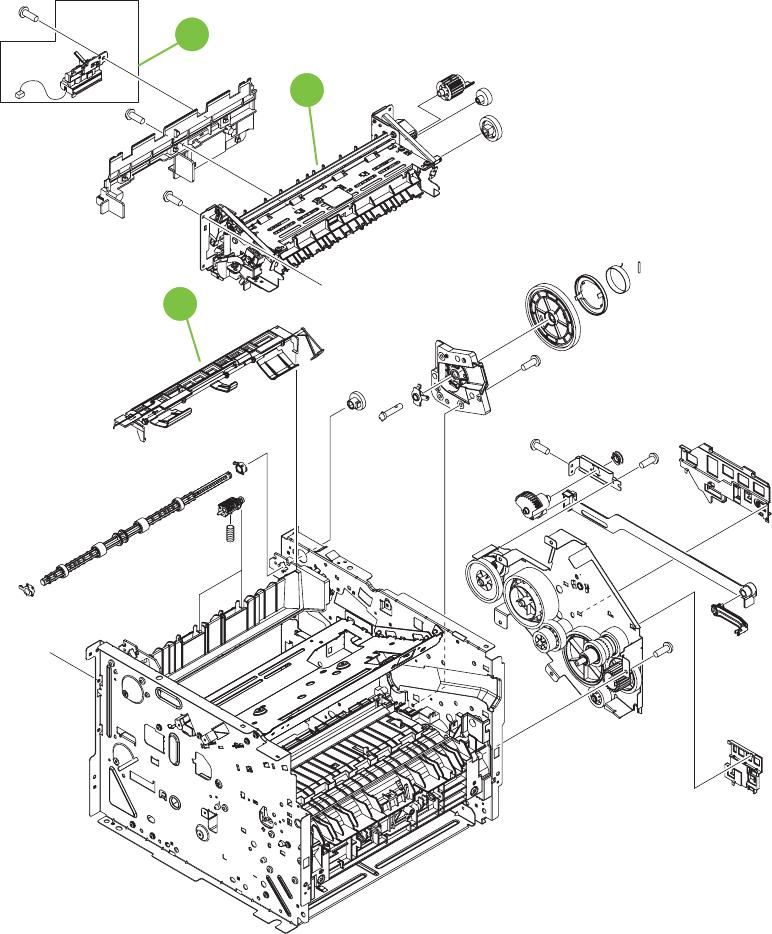 HP LaserJet P2050 and P2030 Series Printers Service Manual